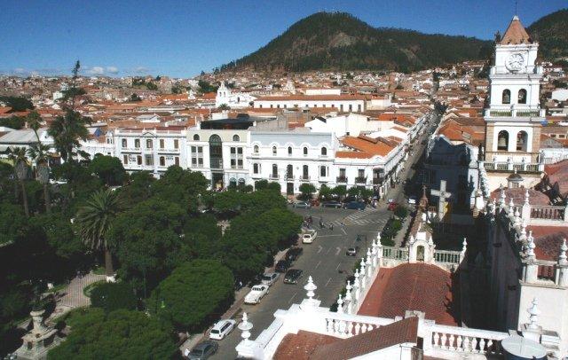 фотография столицы Боливии