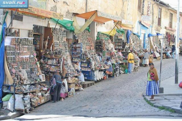 рынок ведьм в Боливии
