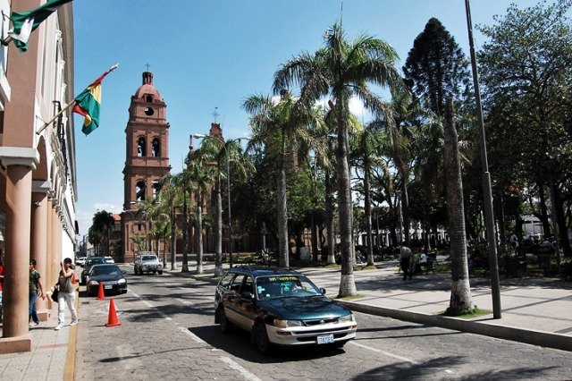 центр города Санта-Крус-де-ла-Сиерра