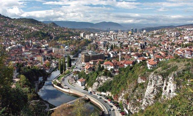 фото столицы Сараево