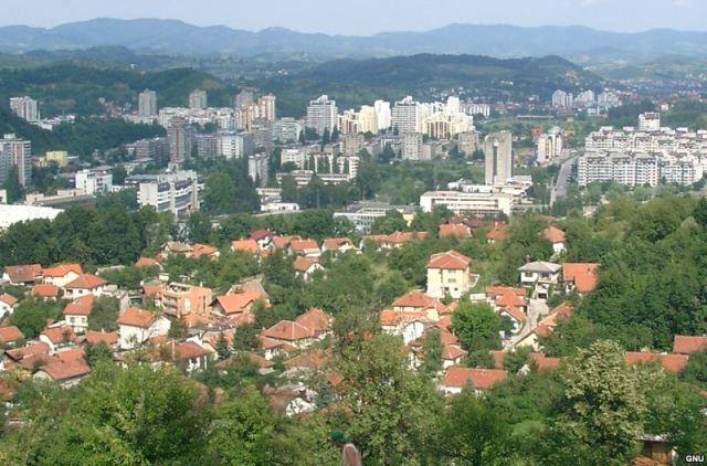 фото города Тузла