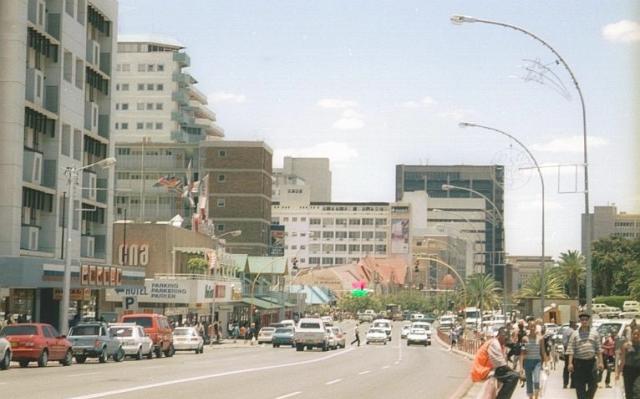 Улицы столицы Габороне