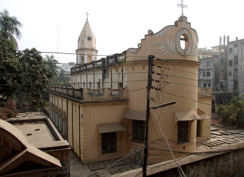 Армянская Воскресенская церковь в Дакке