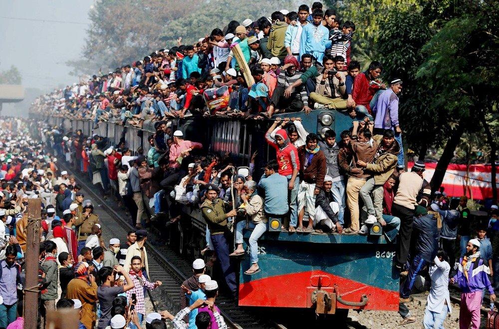 поезд в Бангладеше