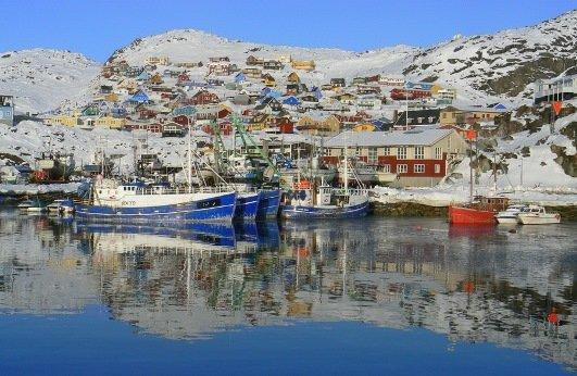 Красивая Гренландия