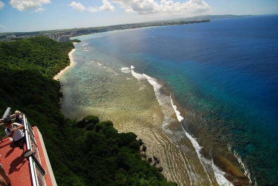 береговая линия Гуама