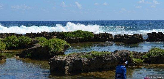 фото береговой линии Гуама
