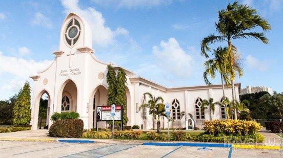 архитектура зданий на Гуаме