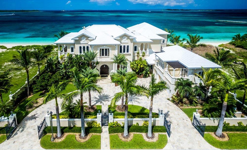 фото виллы на Багамских островах