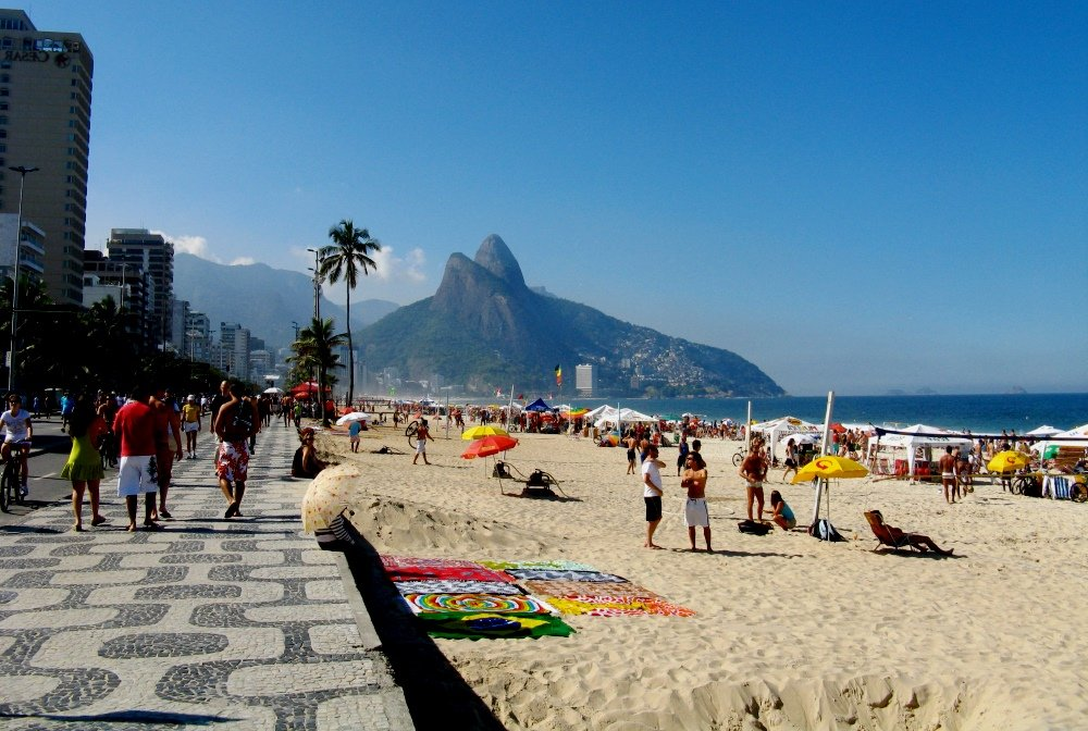 фото пляжа в Рио-де-Жанейро
