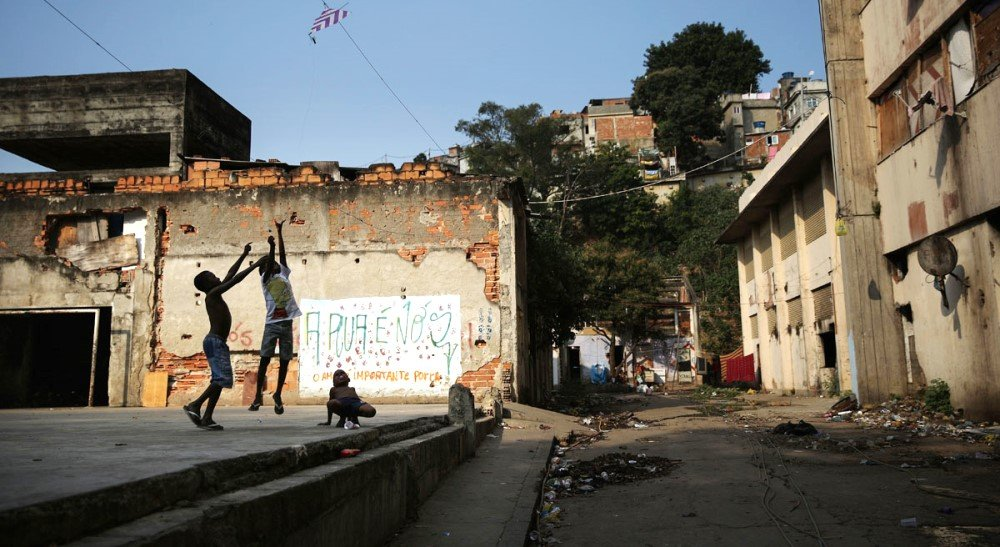 фото улиц фавел