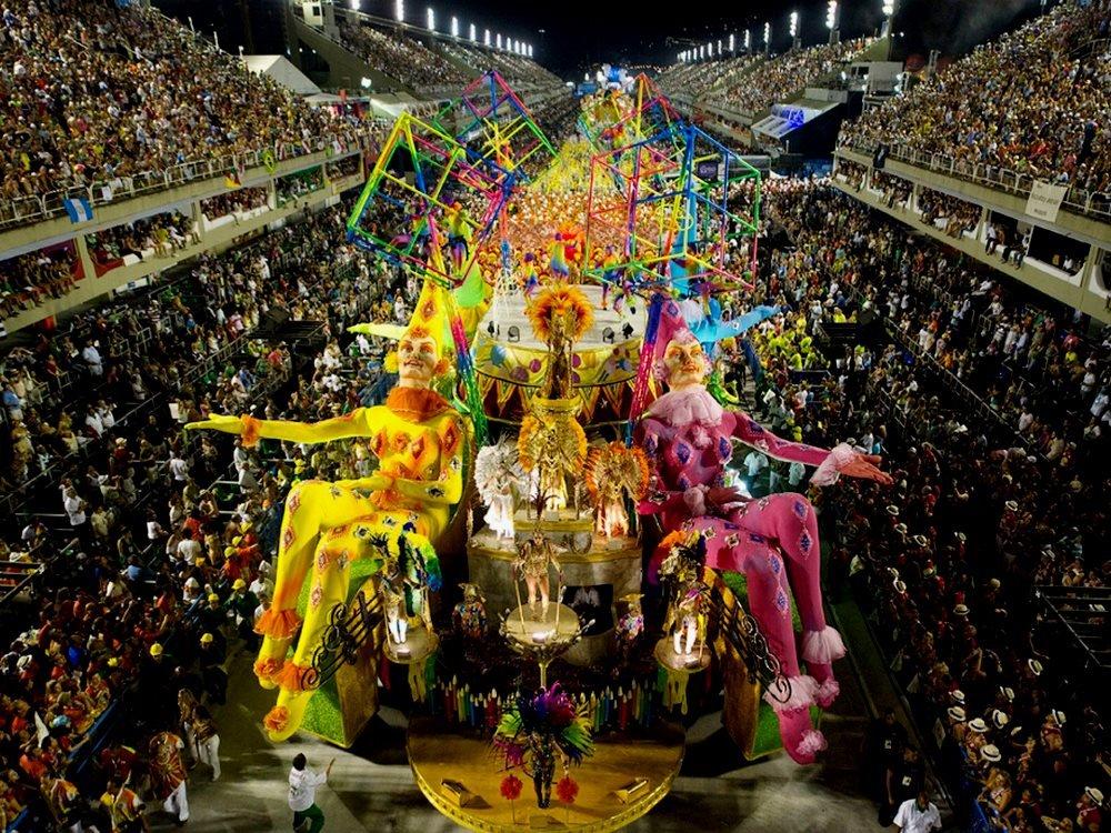 Фото карнавалов в Рио-де-Жанейро