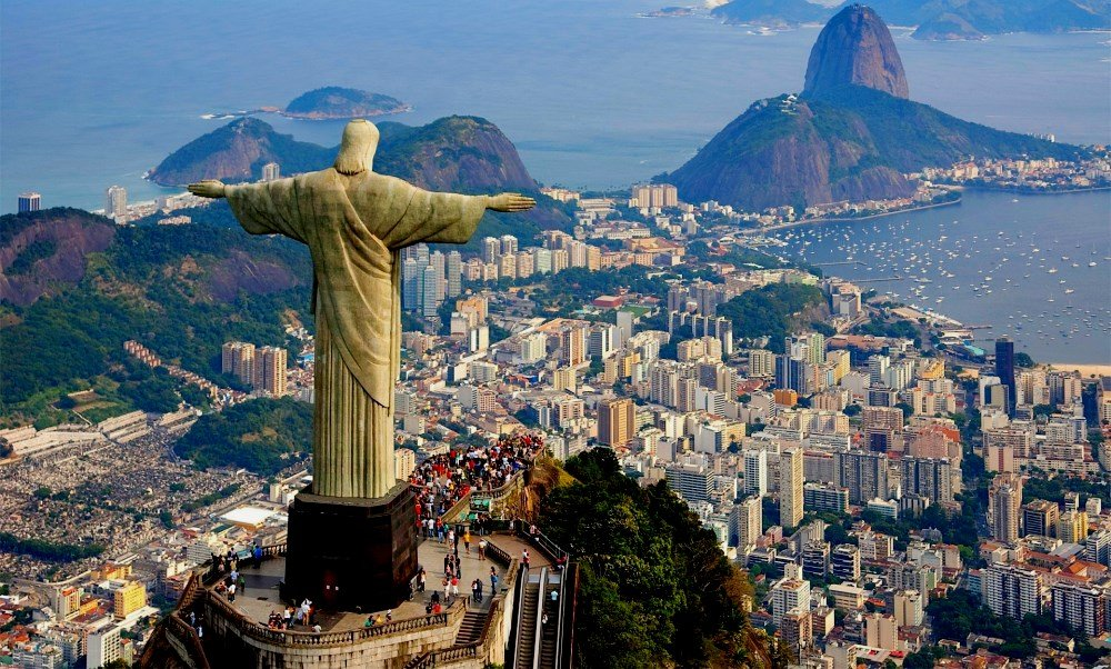 Фото статуи Христа в Рио-де-Жанейро