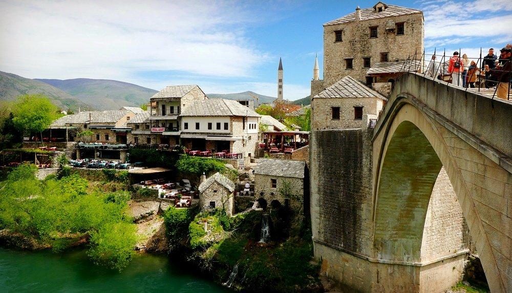 фото Старого моста в Сараево