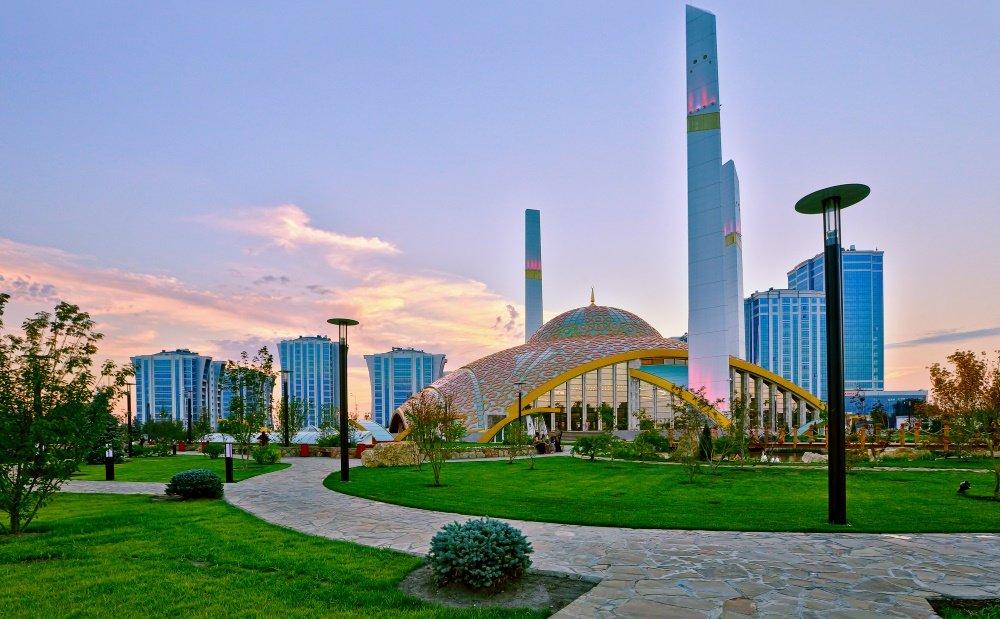 фотография города Аргун в Чеченской Республике
