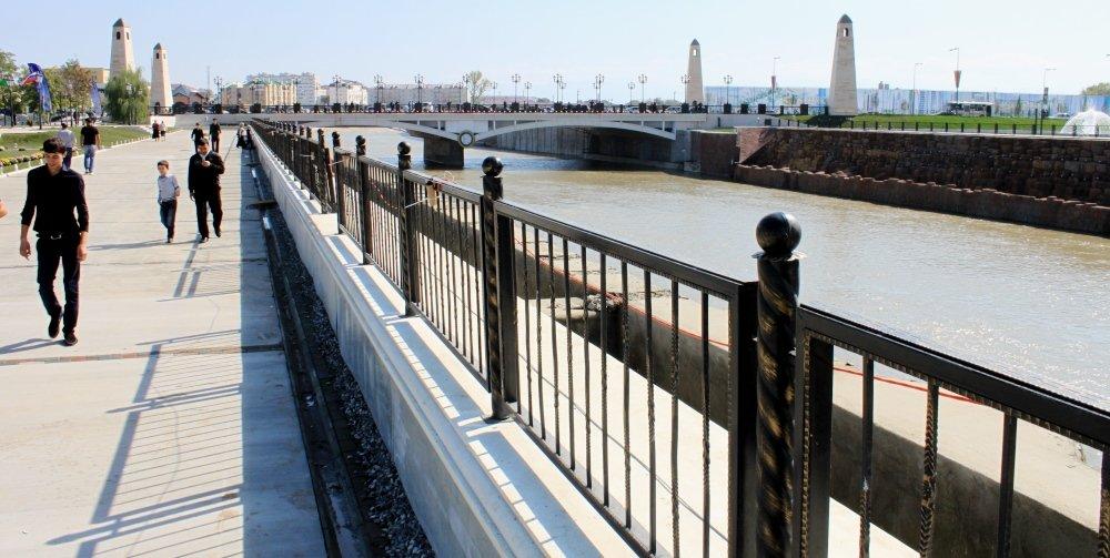 фотография реки Сунжа
