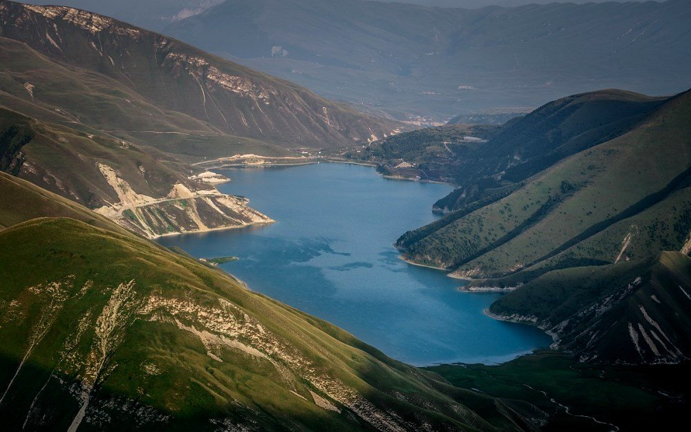 чеченское озеро Кезенойам