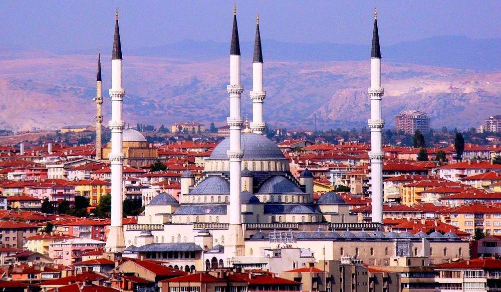 Анкара, столица Турции