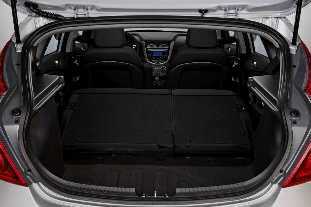 размер багажника соляриса
