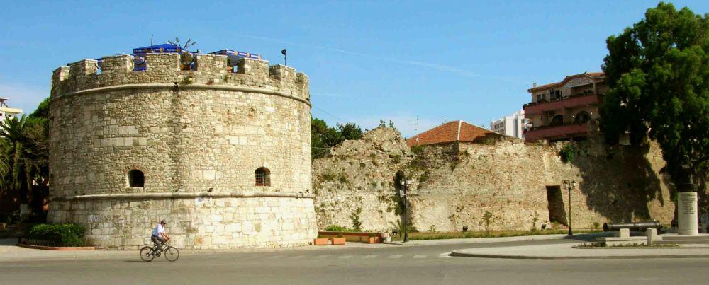 сохранившаяся крепость в Дурресе