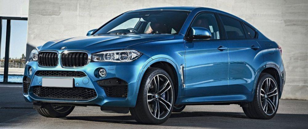 BMW X6 синий 2018 года