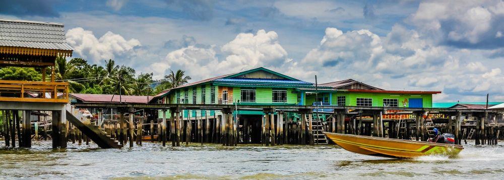рыболовные районы города