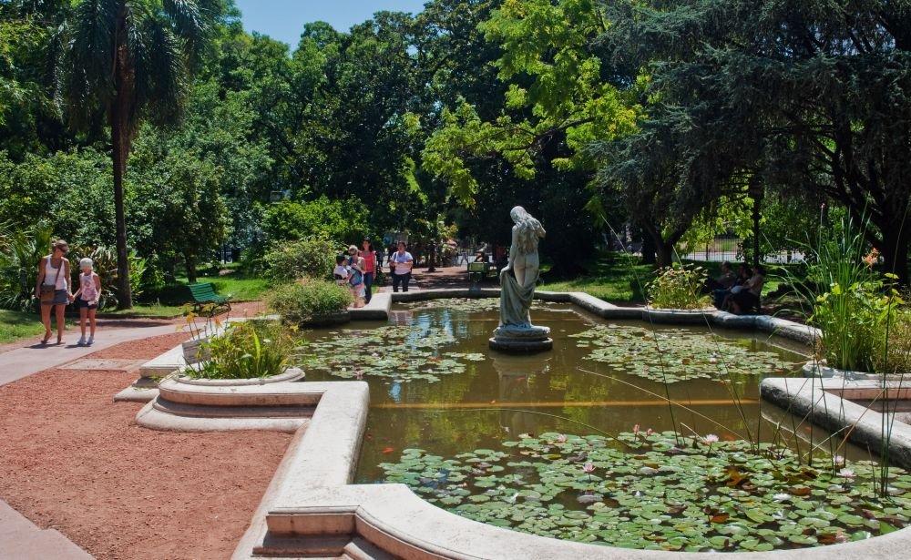 Ботанический сад в Буэнос-Айресе