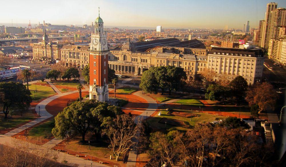 красивое место Буэнос-Айреса