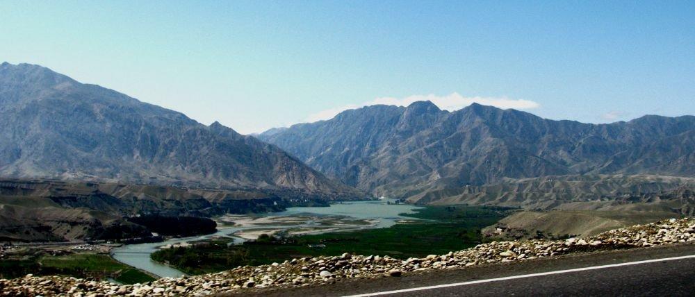 пейзажи окраины Кабула