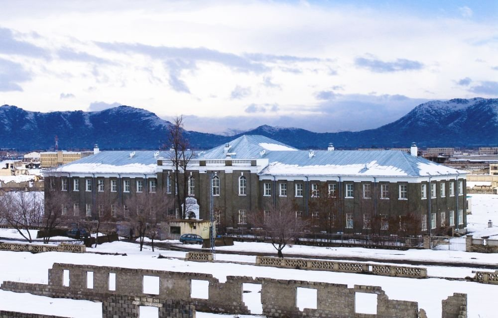Кабул зимой