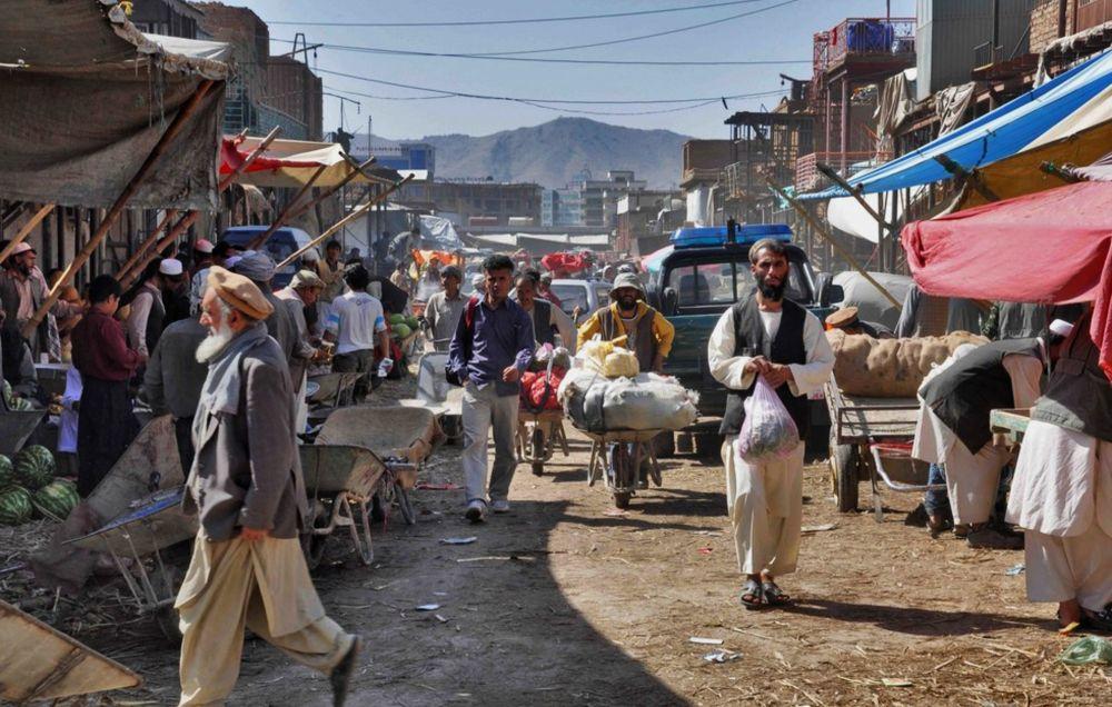 городской рынок в Кабуле