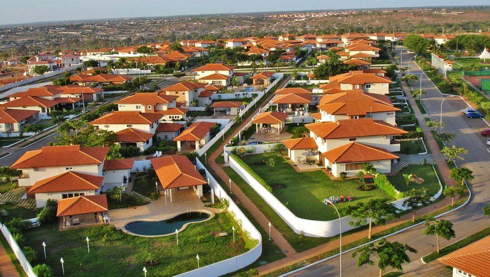 коттеджный поселок в Луанде
